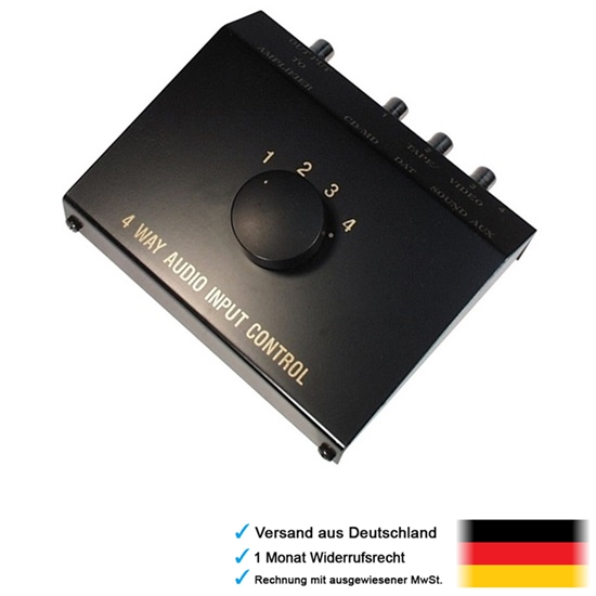Y Connecteur Câble y rca douce de distribution cinchverteiler cinchverdoppler Adaptateur